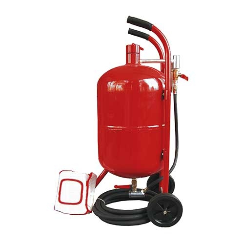 10 (38LT) Gallon Portable Sandblaster Kit
