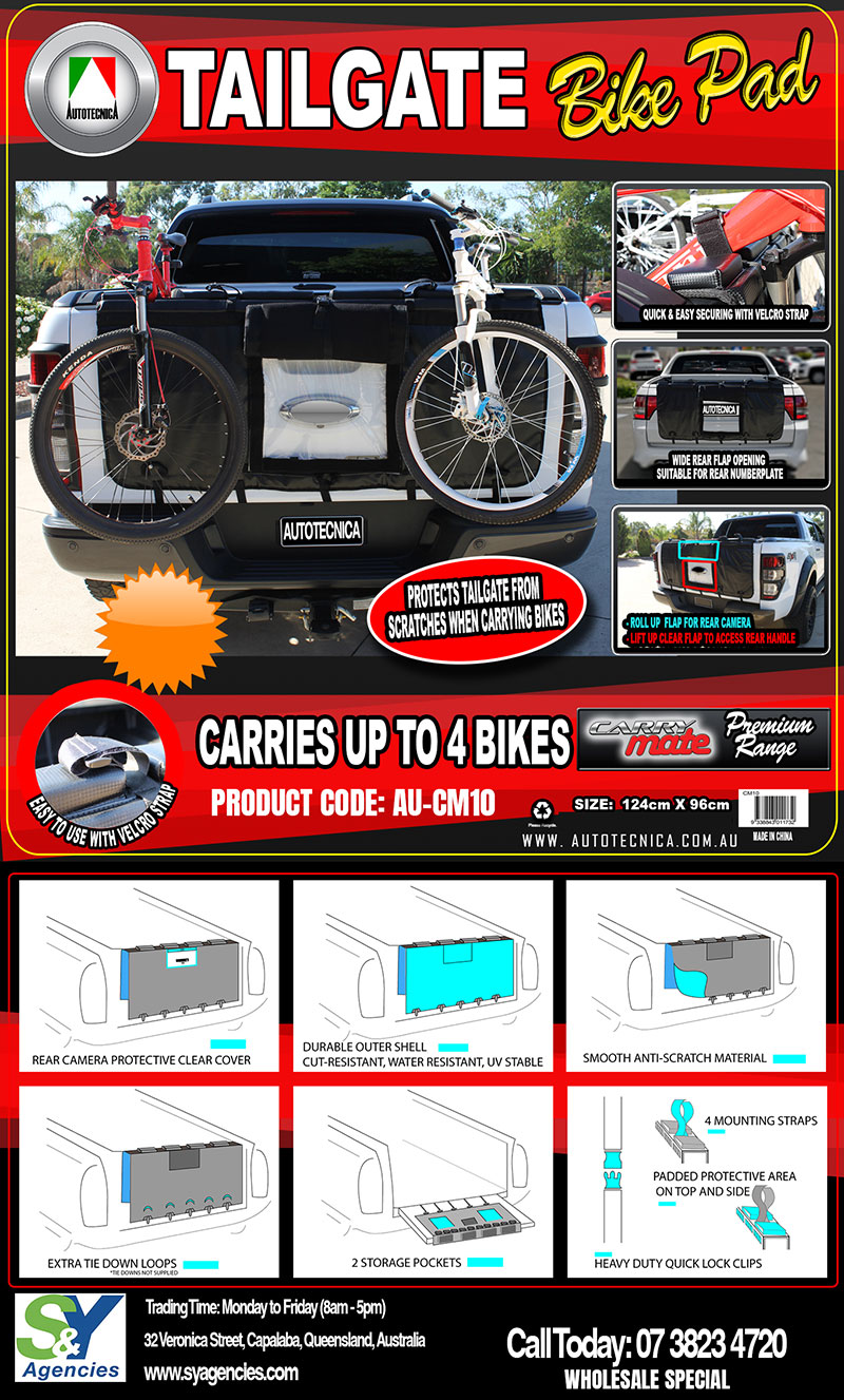 Product Launch Tailgate Bikepad promo