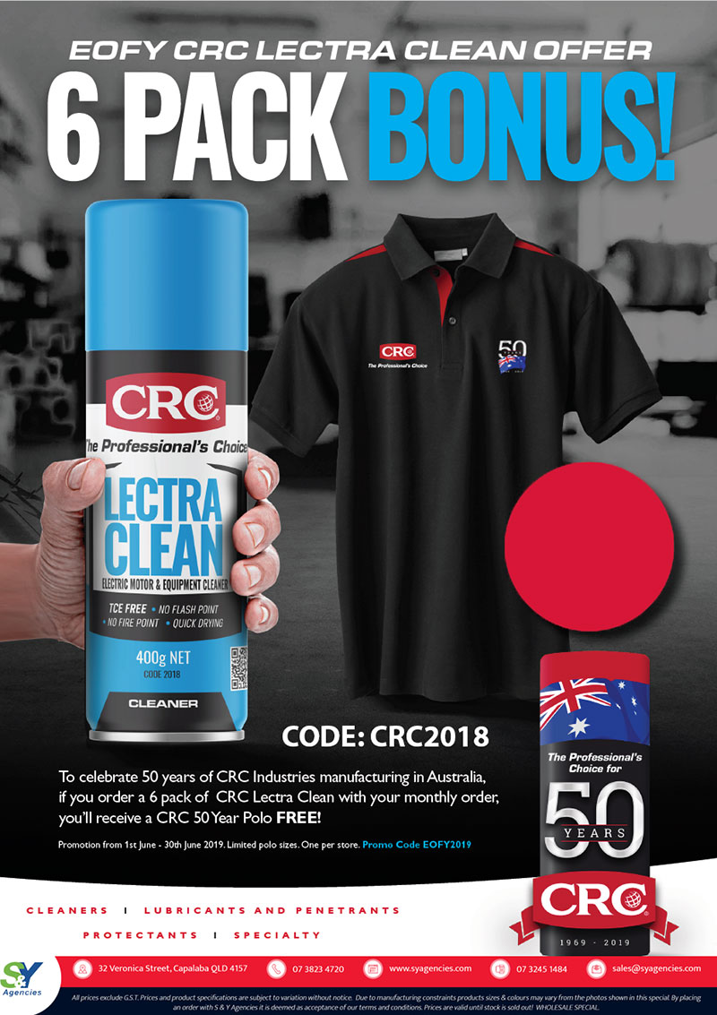 CRC LECTRA CLEAN BONUS OFFER promo