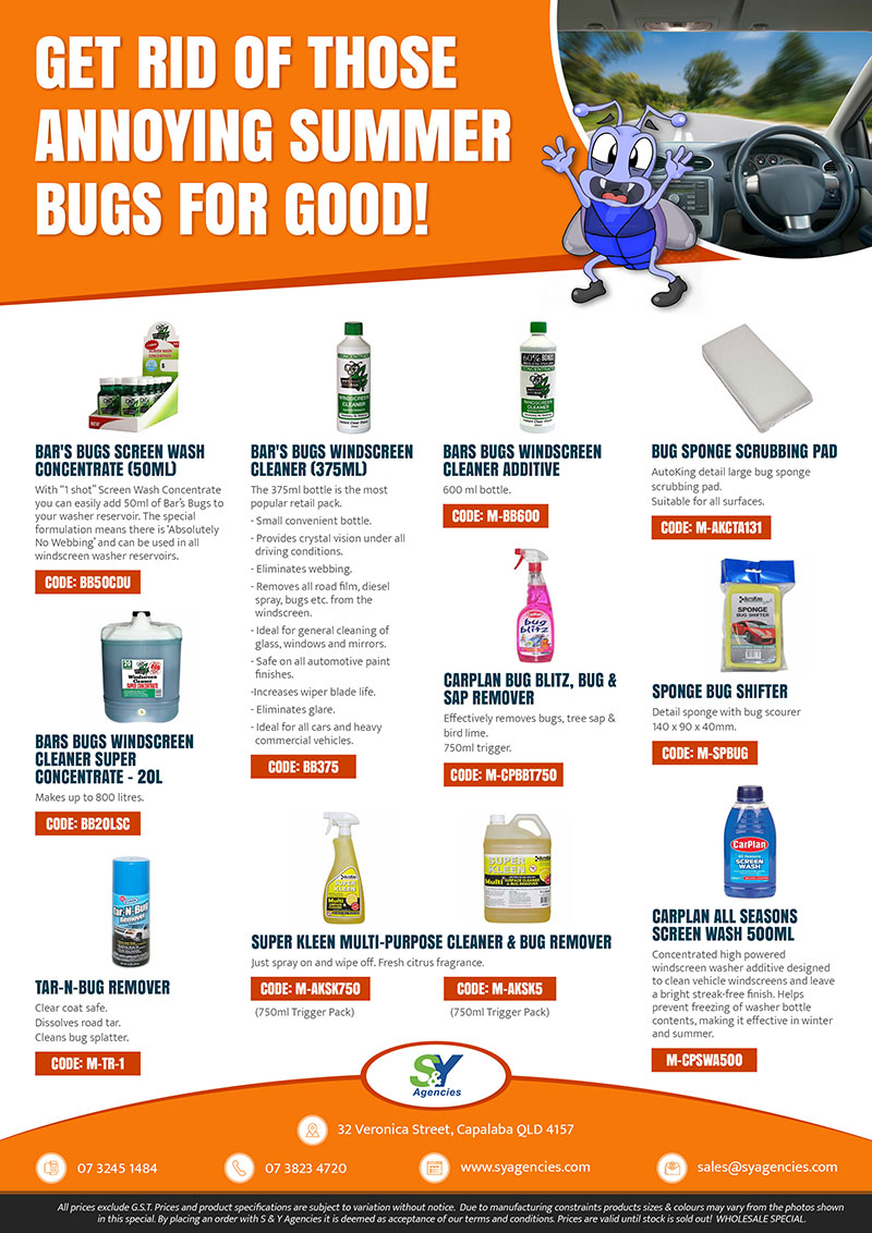 GET RID OF THOSE ANNOYYING SUMMER BUGS FOR GOOD promo