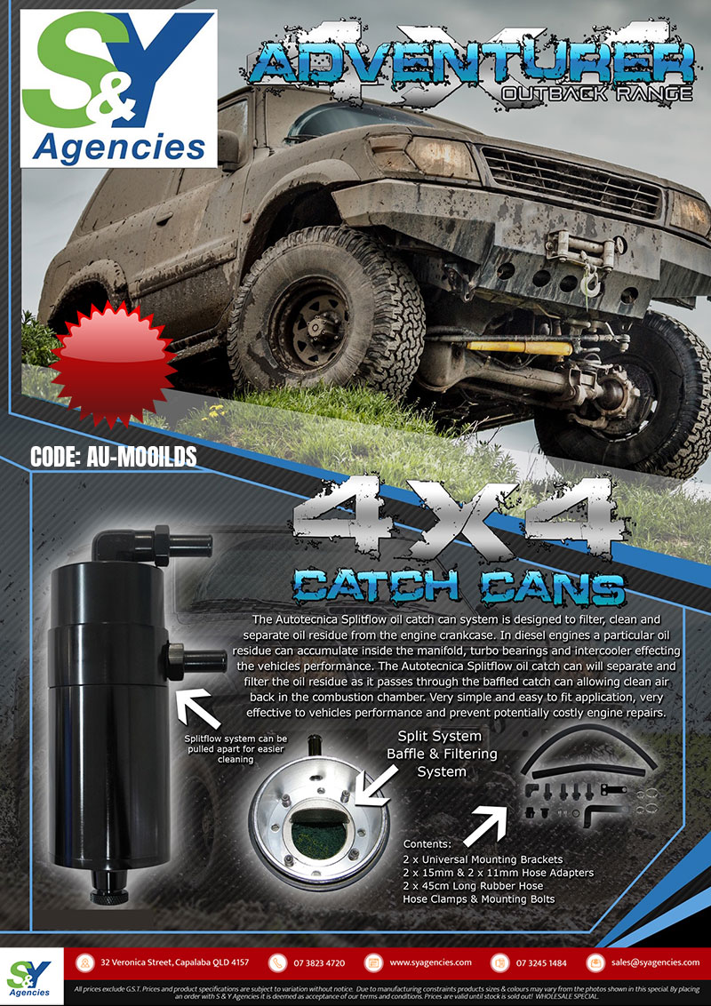 catch can flyer 4x4 promo