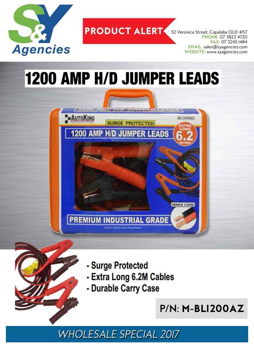 1200AMP HD Jumper Leads BL1200AZ no price